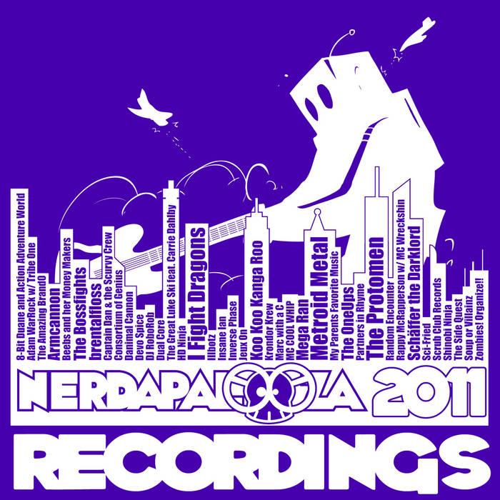 Nerdapalooza 2011 Recordings cover art