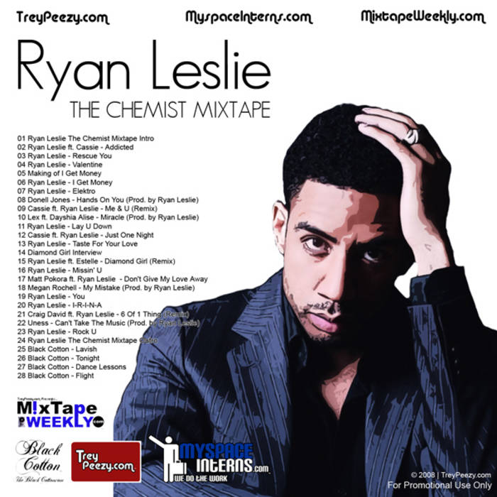 TreyPeezy.com Presents... Ryan Leslie The Chemist Mixtape cover art