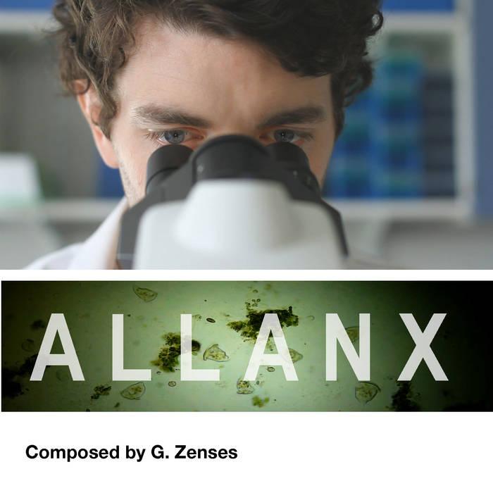 ALLAN X original soundtrack cover art