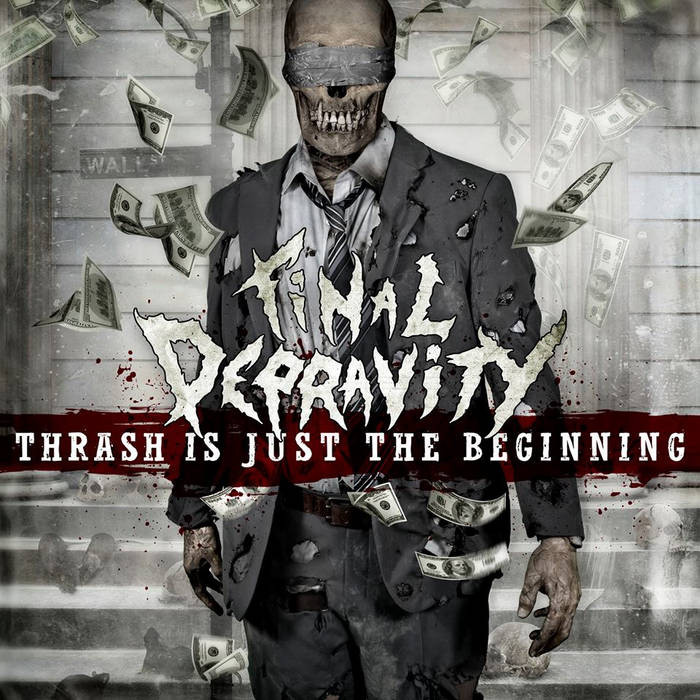 Thrash Is Just The Beginning cover art