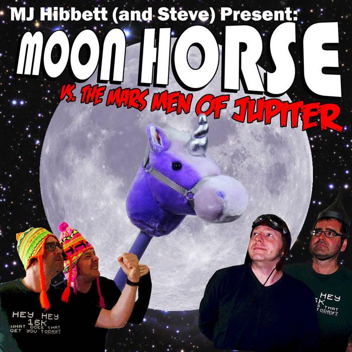 Moon Horse VS The Mars Men Of Jupiter cover art