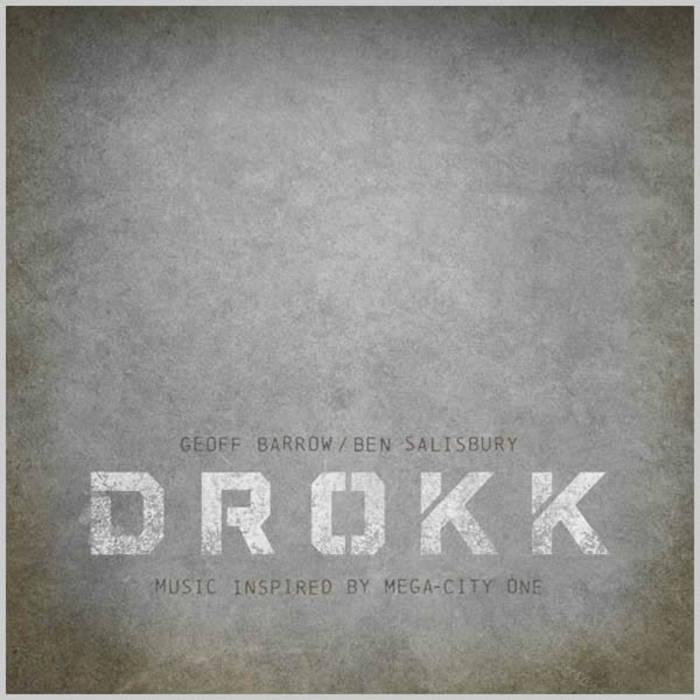 Drokk: Music inspired by Mega-City One cover art