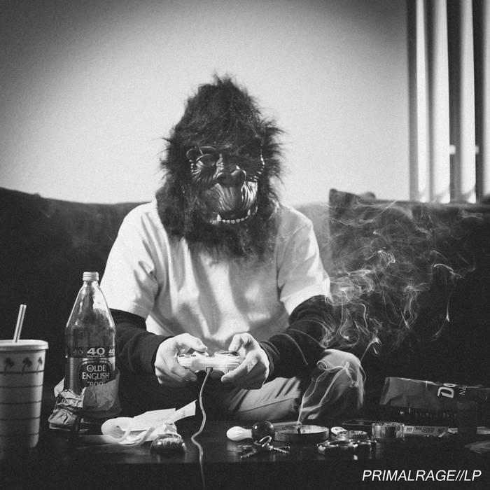 PRIMAL RAGE//LP cover art