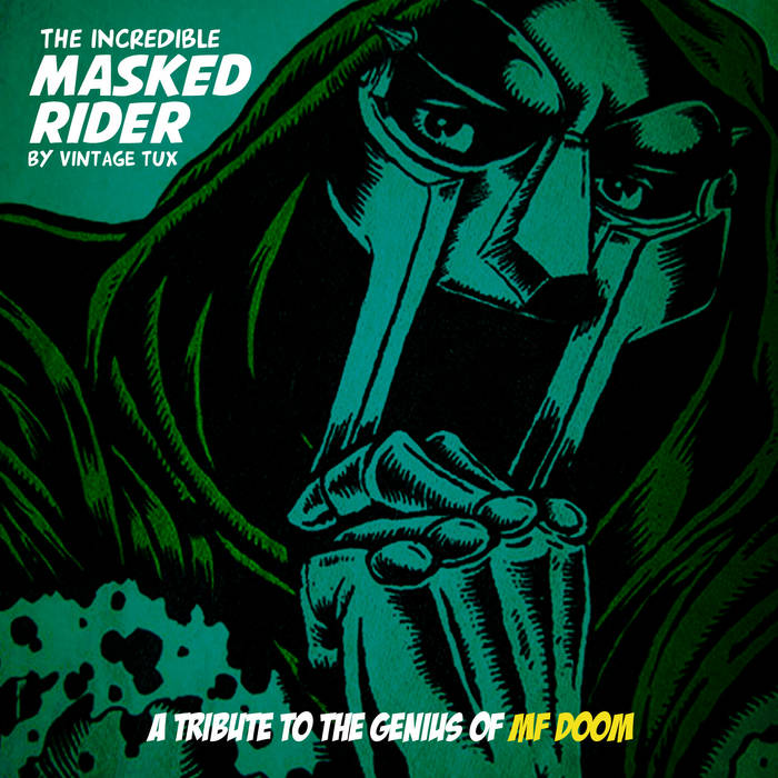 THE INCREDIBLE MASKED RIDER cover art
