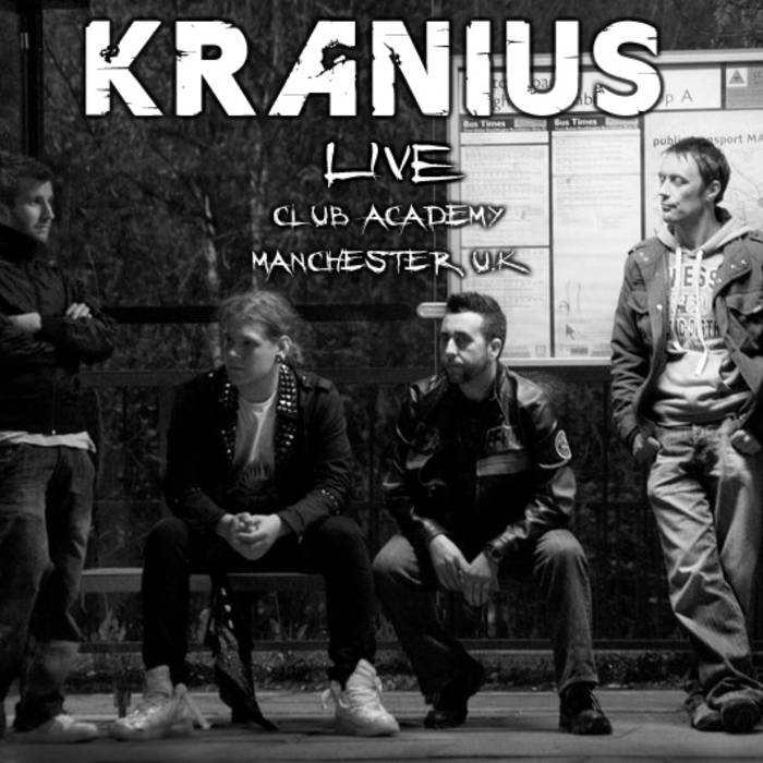 KRANIUS - LIVE - CLUB ACADEMY cover art