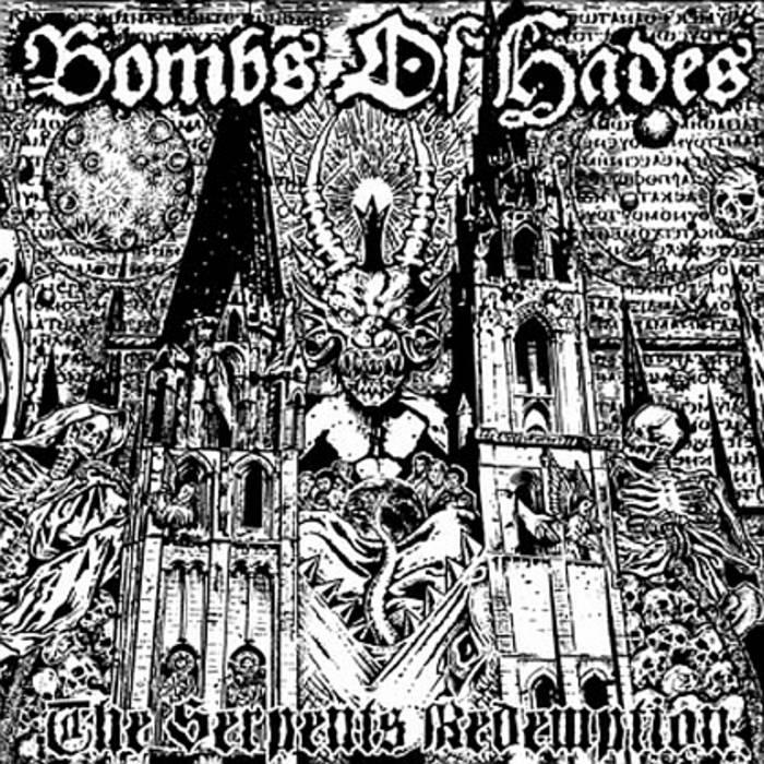 """The Serpent's Redemption 12""""LP cover art"""