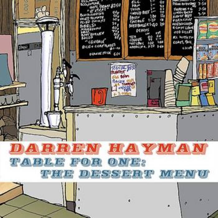 Table For One: The Dessert Menu cover art