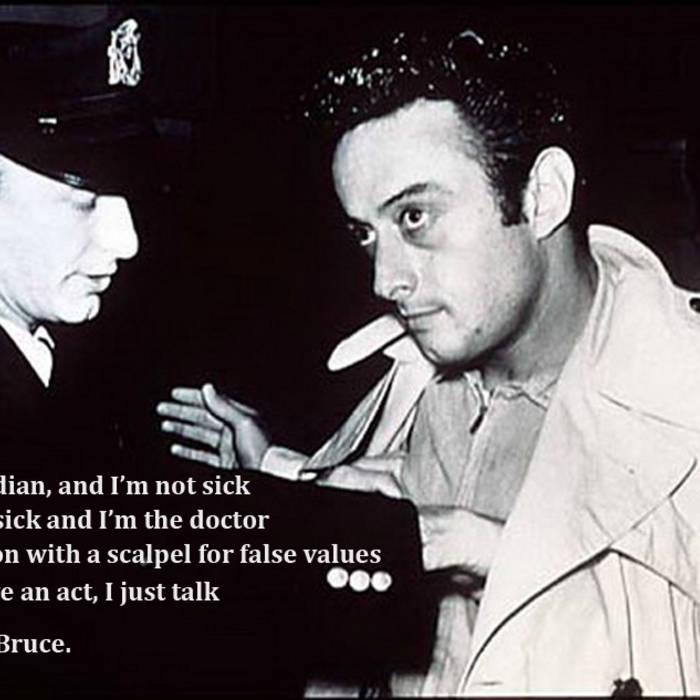 Lenny Bruce cover art