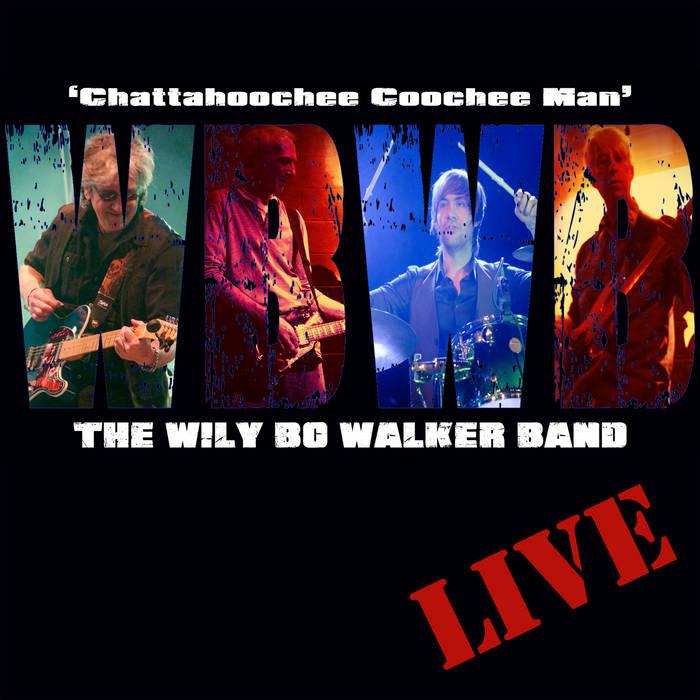 Chattahoochee Coochee Man - 'Live' cover art