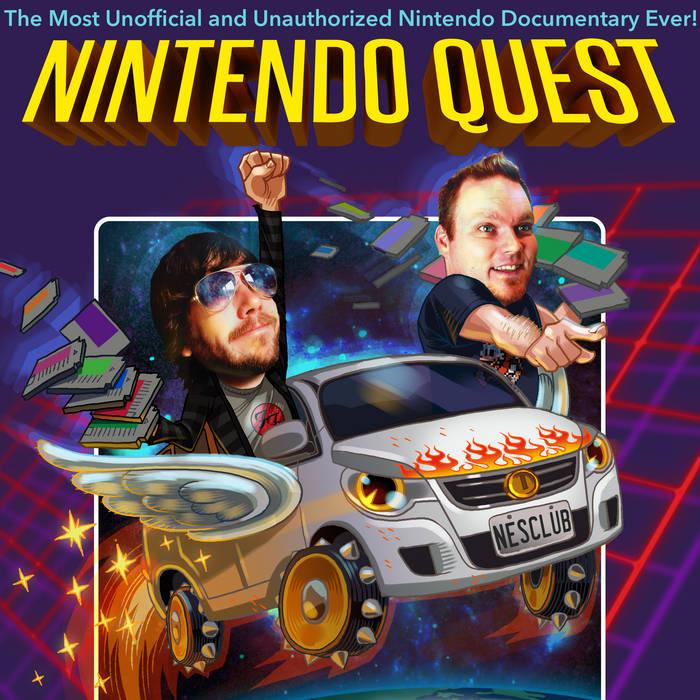 Nintendo Quest Official 8-Bit Soundtrack cover art