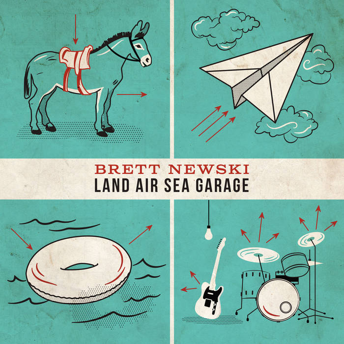 Land Air Sea Garage cover art