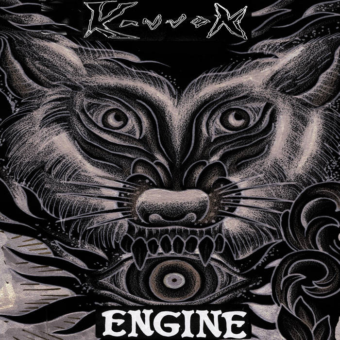 Engine cover art