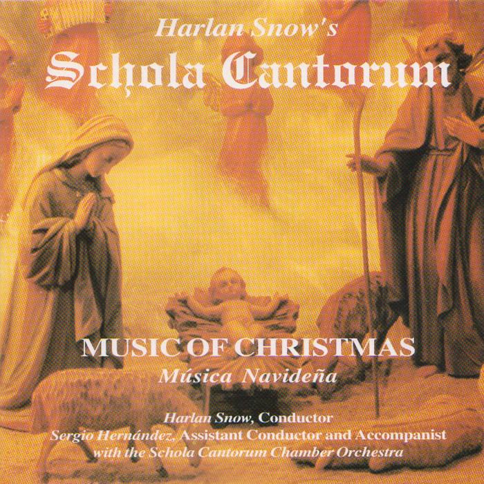 Harlan Snow's Schola Cantorum cover art