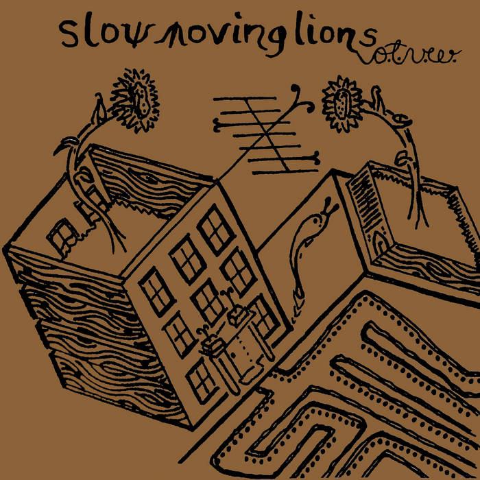Slow Moving Lions of the Vegetable World EP cover art