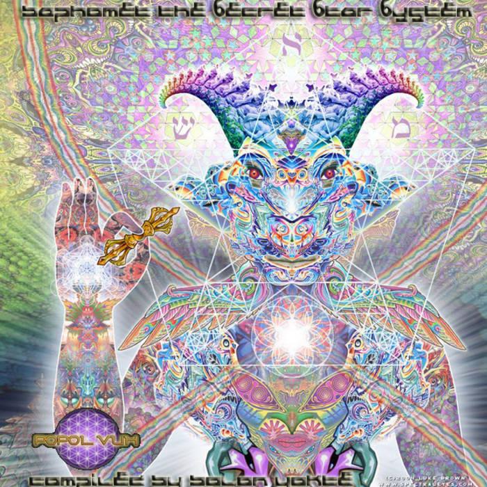 "V/A ""Baphomet The 6ecret 6tar 6ystem""  Compiled By Bolon Yokte cover art"