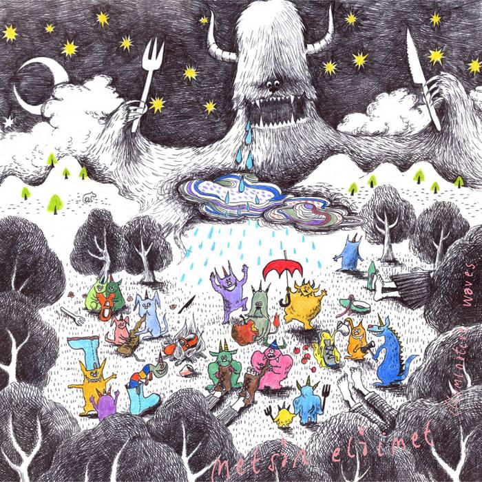 metsän eläimet  cover art
