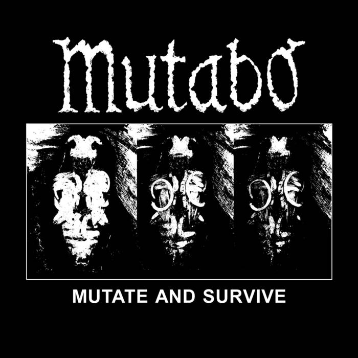 Mutate and Survive split LP with Hellexist cover art