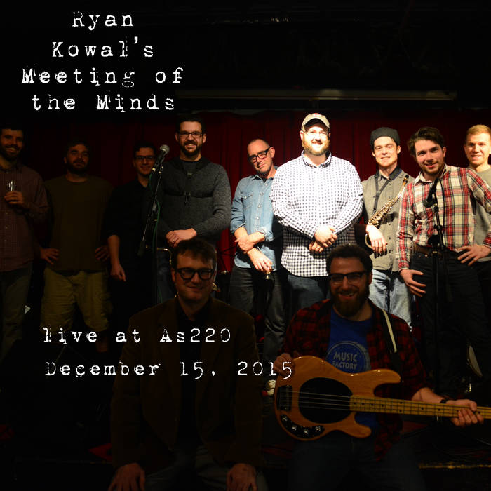 Live at As220, December 15, 2015 cover art
