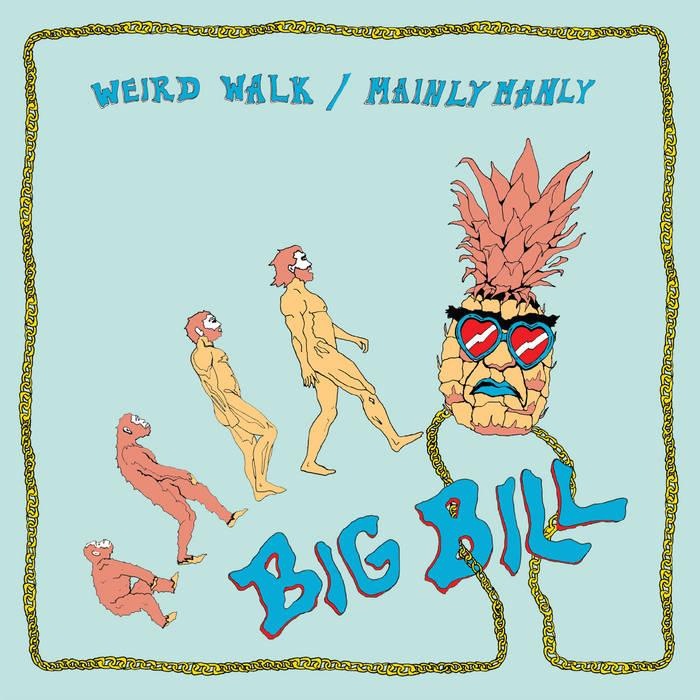 Weird Walk / Mainly Manly cover art
