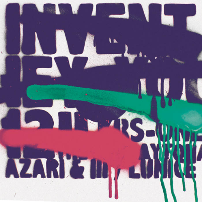 "INVENT - Hey You 12"" cover art"