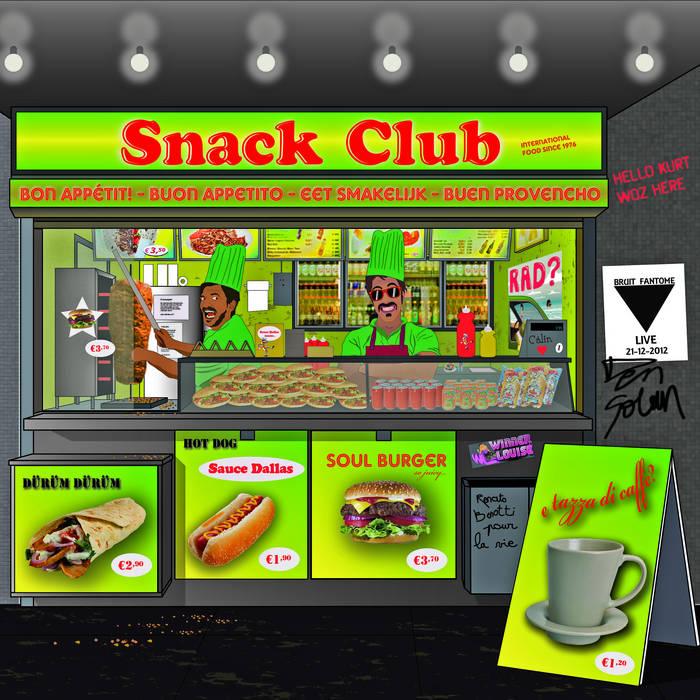 "Venturi ""Snack Club International EP"" cover art"