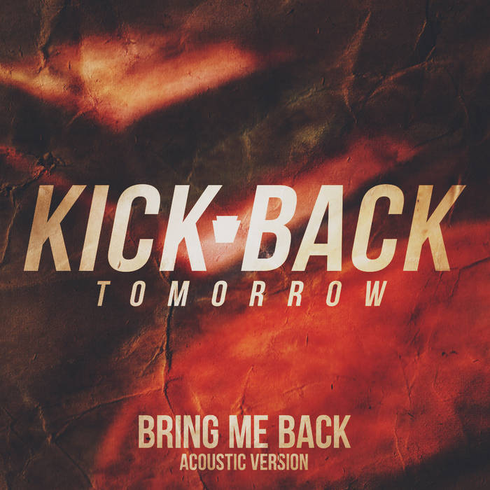 Bring Me Back (Acoustic) cover art
