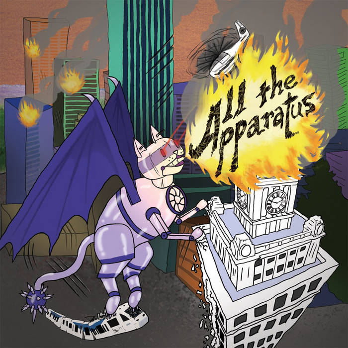 ALL THE APPARATUS cover art