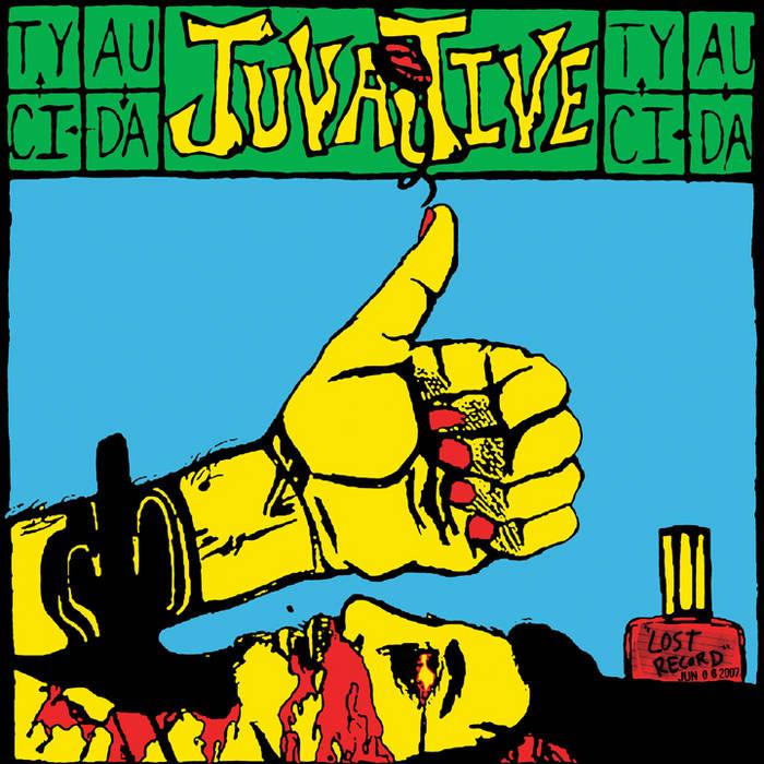 "AUDACITY ""JUVAJIVE"" 10"" cover art"