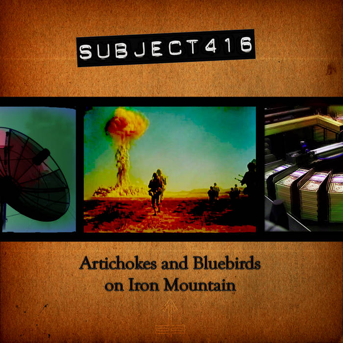 Artichokes & Bluebirds on Iron Mountain cover art