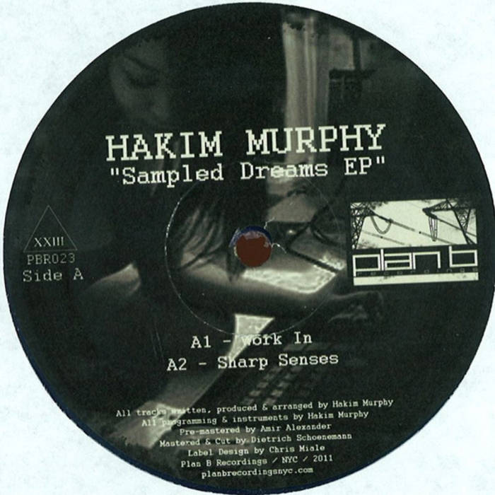 """Sampled Dreams EP"" - Hakim Murphy (12"" Vinyl) cover art"