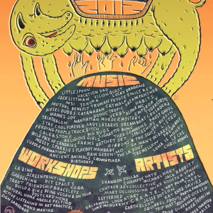 fmly fest 2k12 (los angeles) cover art