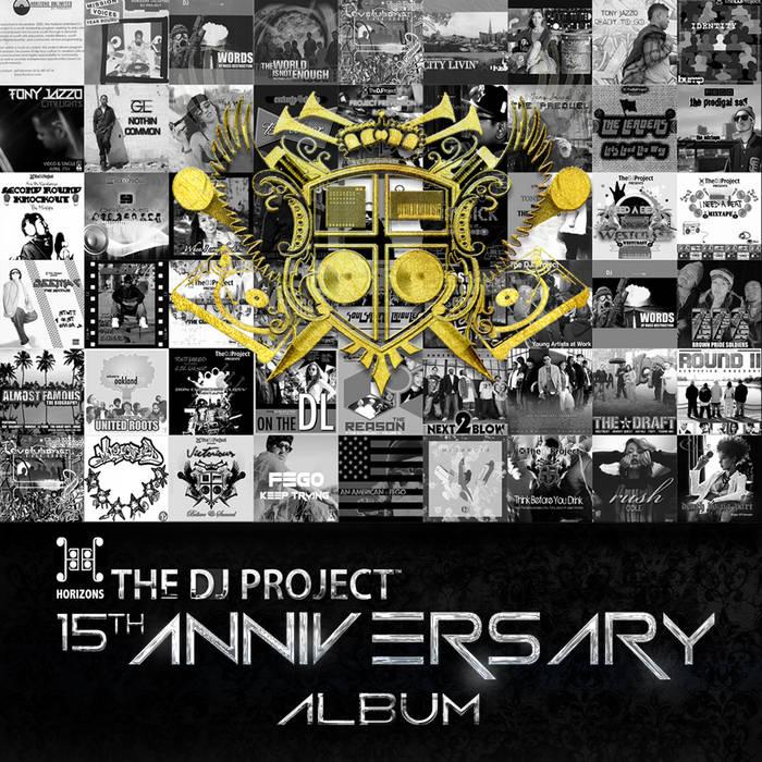 The DJ Project Anniversary Album cover art