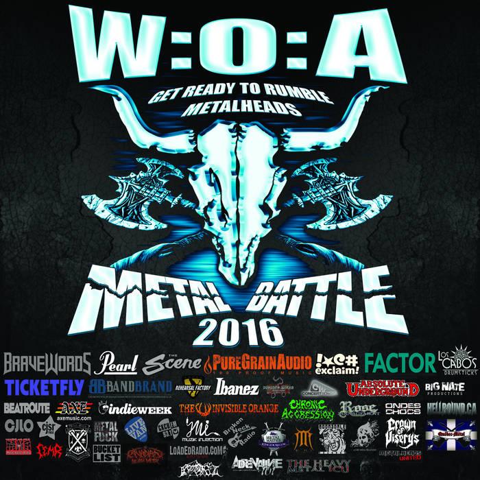 Wacken Metal Battle Canada Compilation Vol. 4 cover art