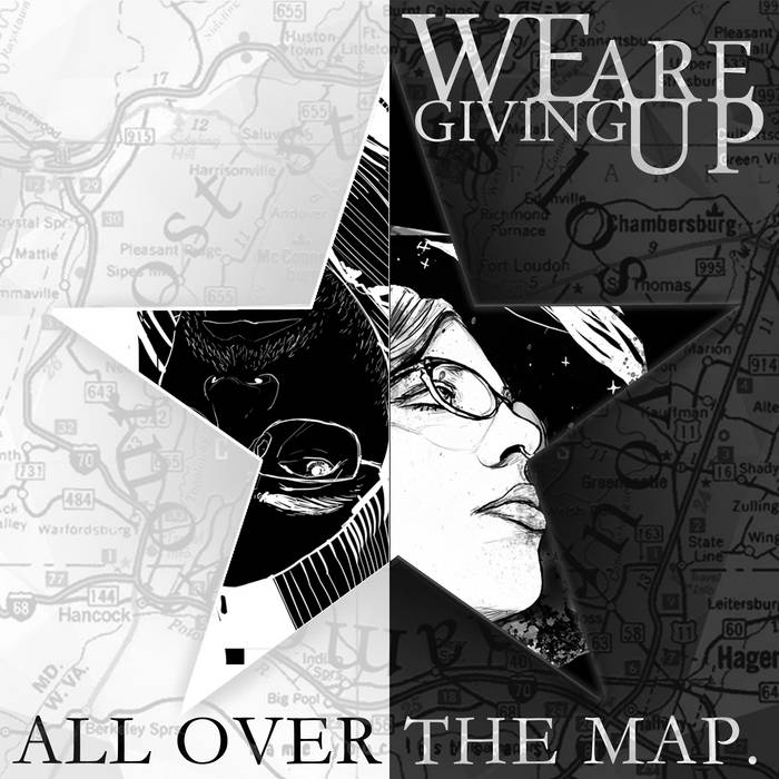 ALL OVER THE MAP cover art
