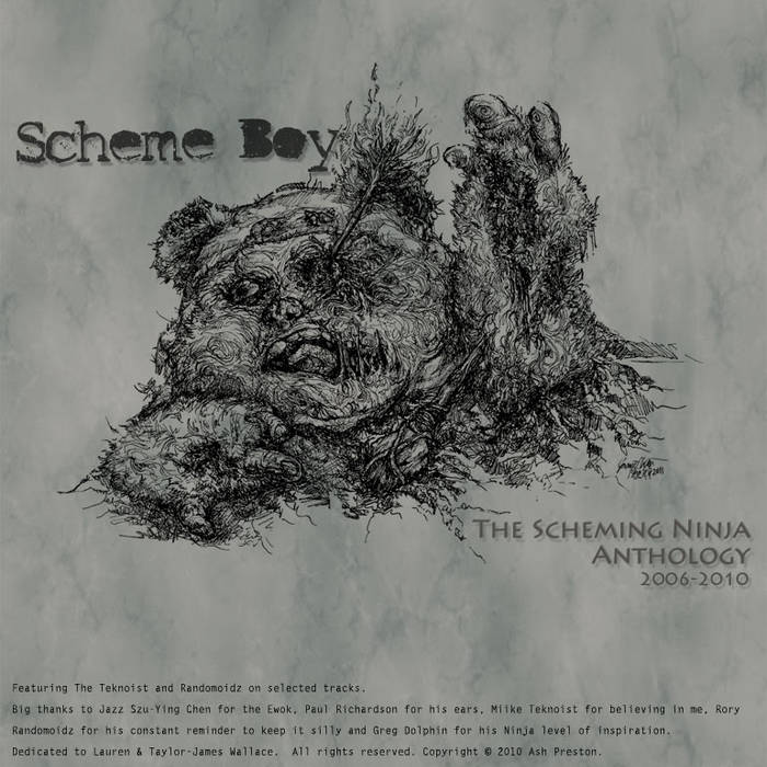 The Scheming Ninja Anthology cover art