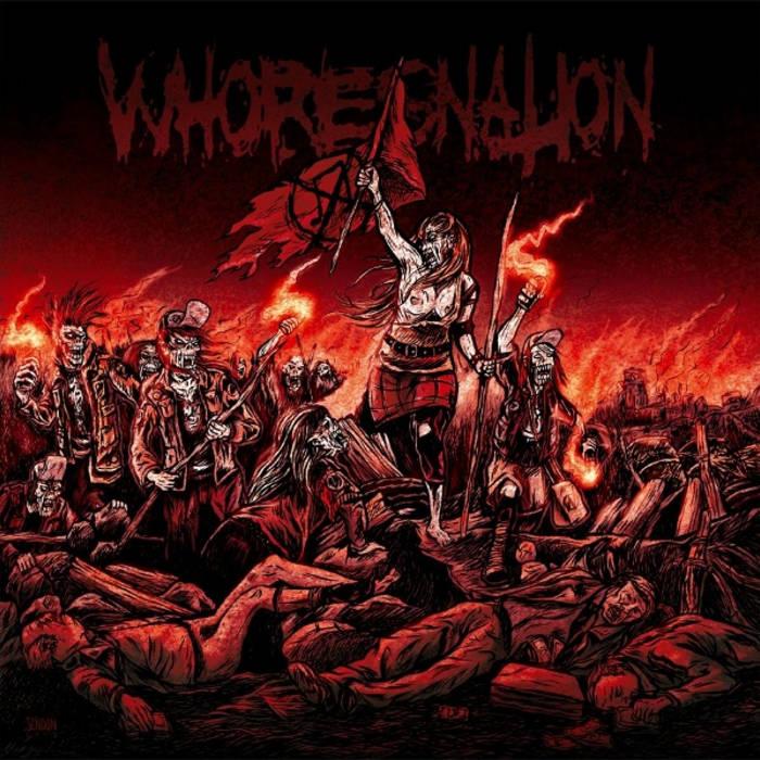 Whoresnation cover art