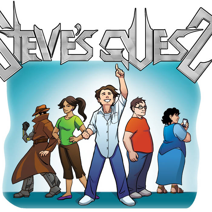 Steve's Quest Original Cast Recording cover art