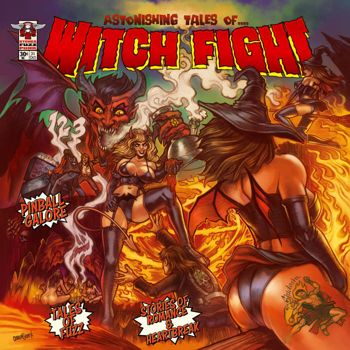 Astonishing Tales of... Witch Fight cover art