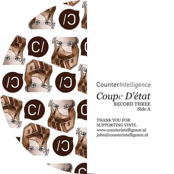 CI015 - Alpha Omega / Bop & Despot / Martsman vs Titanium / Macc - Coupe d'Etat LP (Part Three of Four) (SALE ON VINYL) cover art