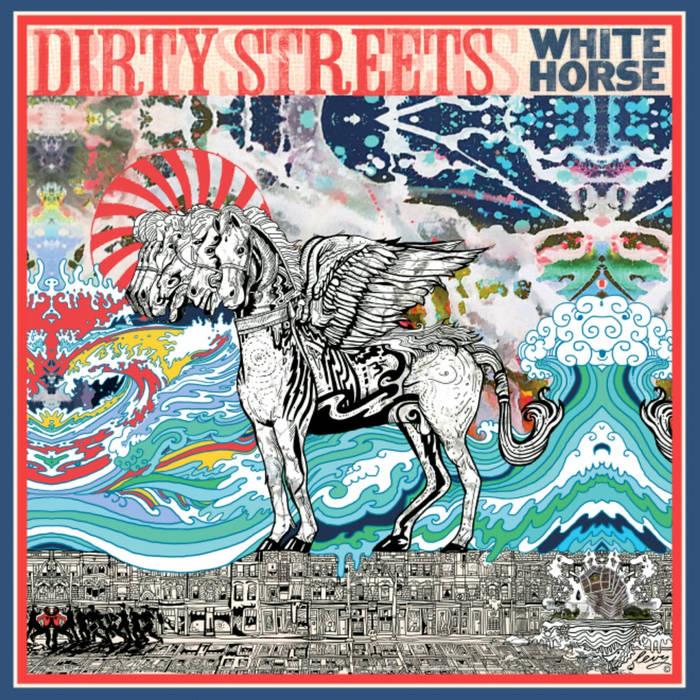 White horse cover art