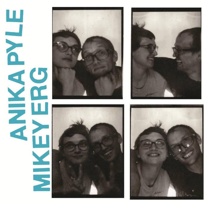 Mikey Erg/Anika Pyle Split cover art