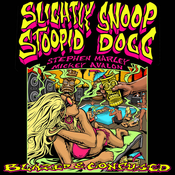 Blazed and Confused 2009 Tour Sampler cover art