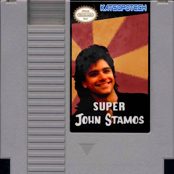 super john stamos cover art