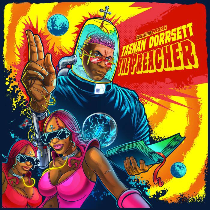 Tashan Dorrsett/The Preacher cover art