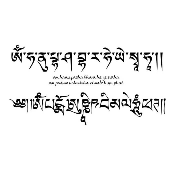 Om Hanu Pasha Bhara He Ye Svaha / Om Padmo Ushnisha Vimale Hum Phat (A Capella) cover art