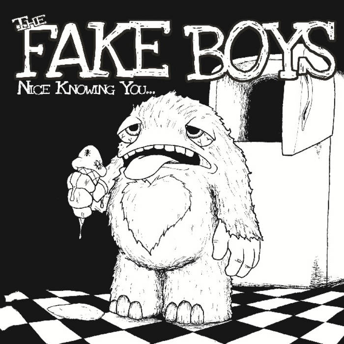 "The Fake Boys - Nice Knowing You 7"" cover art"