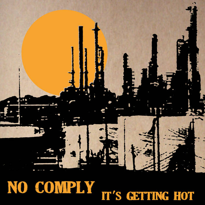 It's Getting Hot - EP cover art