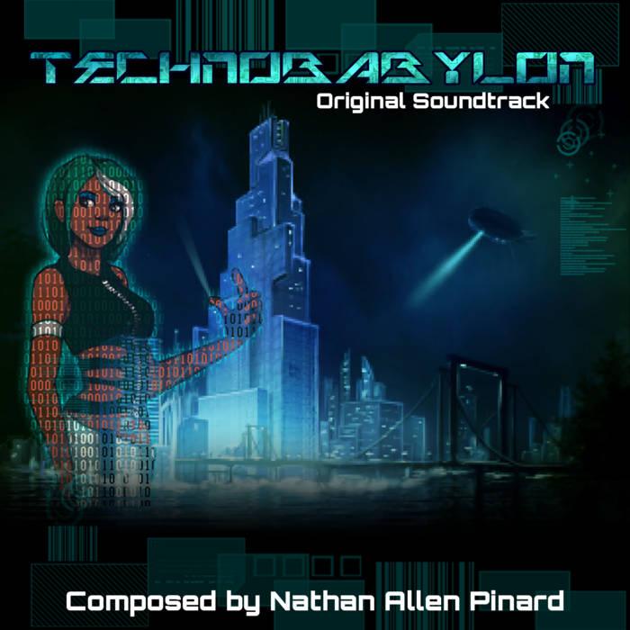 Technobabylon Original Soundtrack cover art