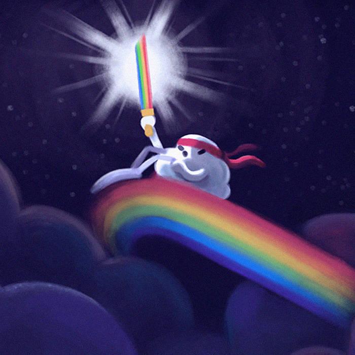 Rainbow Sword OST cover art