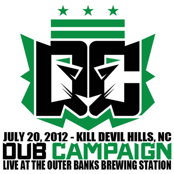 LIVE at the OBX Brewing Station 7/20/12 cover art